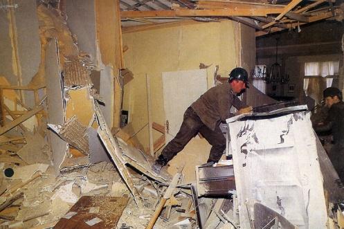 26. CCC. Attentat contre le CVP. 17 octobre 1984.