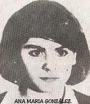 Ana Maria Gonzalez montonera