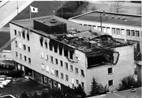 Ataque terrorista a la embajada alemana en Suecia
