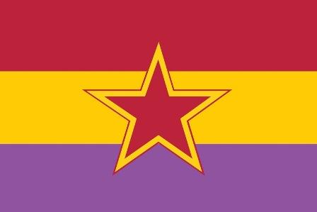 bandera del GRAPO