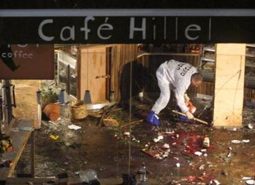 _blood cafe israel