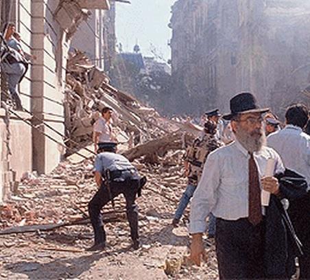 bomba embajada de israel - argentina