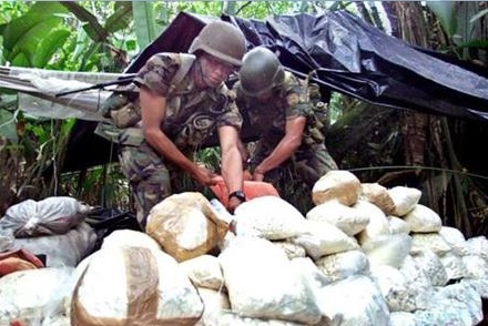 cocaina FARC