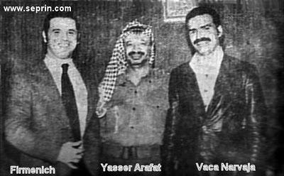 Firmenich - Yasser Arafat - Vaca Narvaja