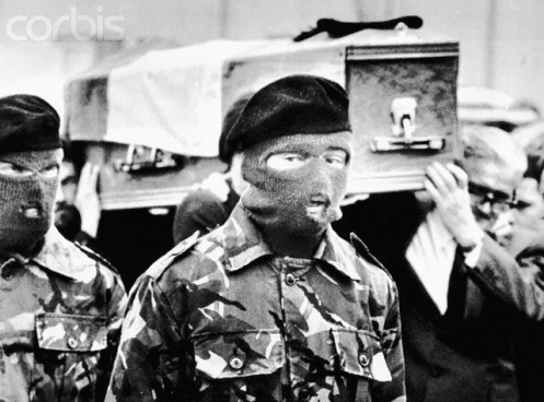 IRA Honor Guard at Bobby Sands' Funeral