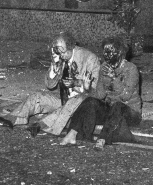 MOUNT STREET BOMBING, LONDON, BRITAIN - 29 OCT 1975