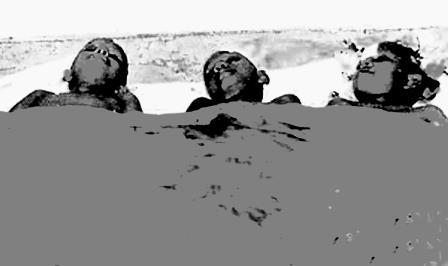 niños budistas victimas del LTTE 1987