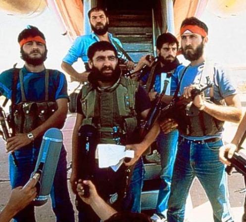secuestradores del vuelo TWA 847 1985