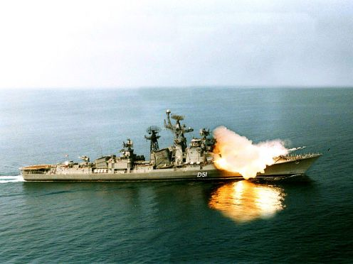 800px-INS_Rajput_firing_a_BrahMos_missile