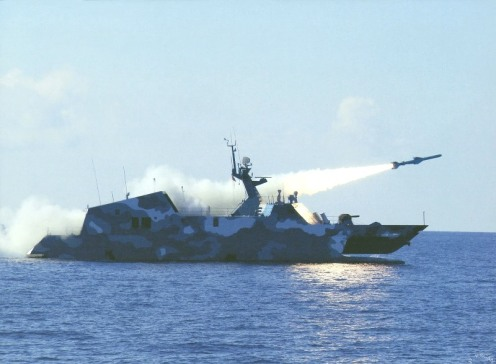 bei-class-fast-attack-missile-craft-stealth-catamaran--test-firing-8-yj-83-anti-ship-missiles-1