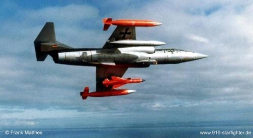 F-104G during Kormoran  France 1972