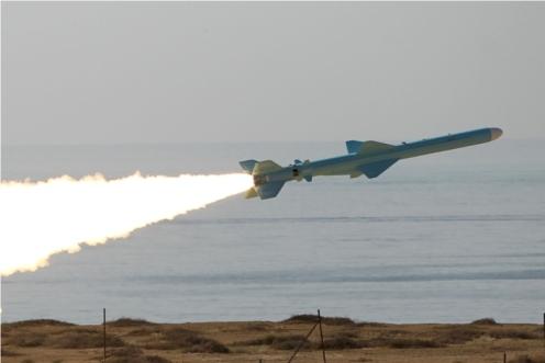 iran iranian navy test fires Strait of Hormuz
