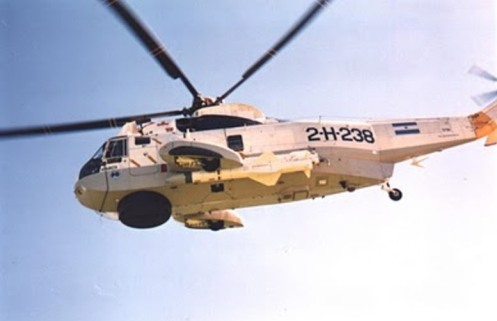 sea king exocet