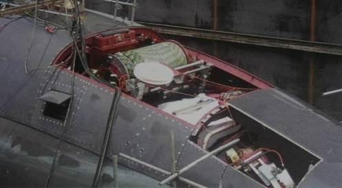sonar de arrastre u-212 tas-3