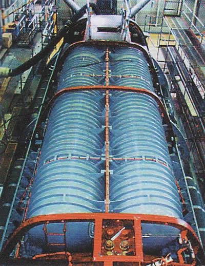 tanques de oxigeno liquido del u-212A
