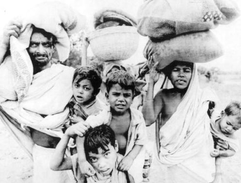 1971-Meherpur-East-Pakistan-Refugees-Seek-Safety-in-India-Wire-