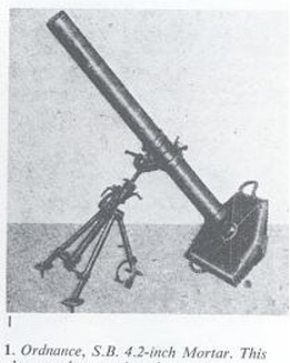 British SB 4.2-inch mortar