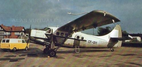 de Havilland Canada DHC-3 Otter gris