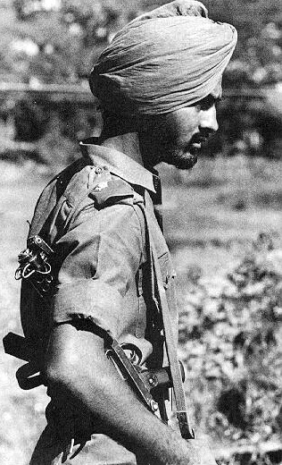 indian soldier 1962