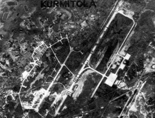 Kurmitola 1971 - Bomb damage at Airport