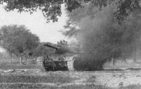 tank damage indo pak war 1971