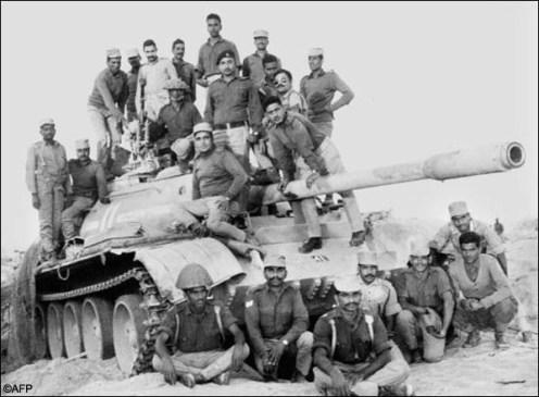 tanque capturado indo pak war 1971