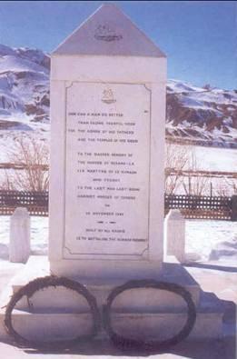 The Rezang La Memorial