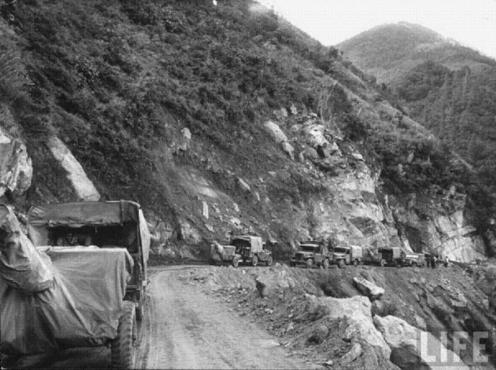 tronsporte de cañones ligeros  sino-india 1962
