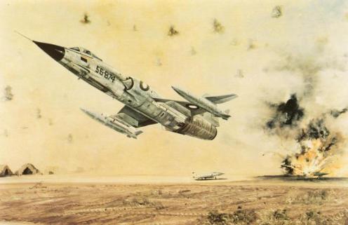 ataque F-104 pak