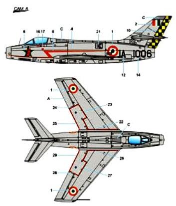 Dassault MD 454 Mystère IVA (2)