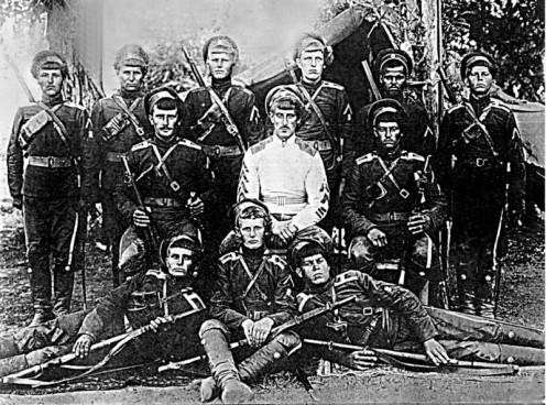 división partisana del General Annenkov