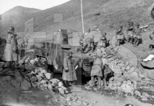 Escuadrón Cráneo en Manchuria