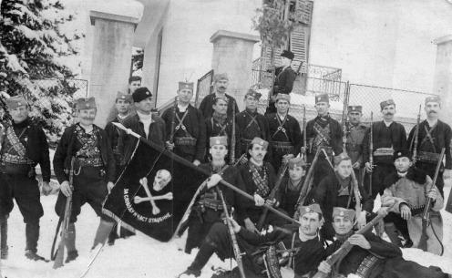 estandarte chetnik