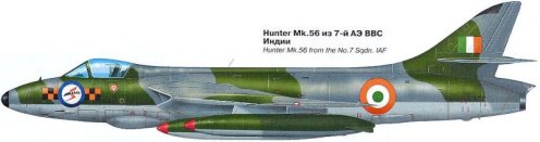 hawker hunter f