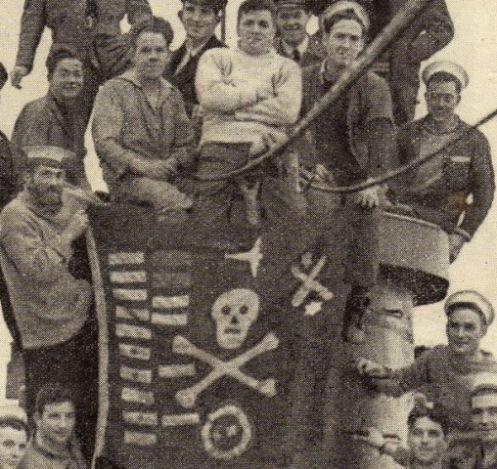 HMS Umbra (P35) British U-class d