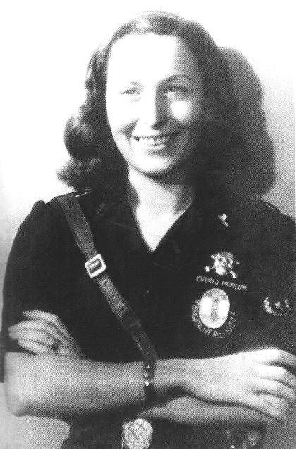 Liana Malavenda,Ausiliaria of Brigate Nere