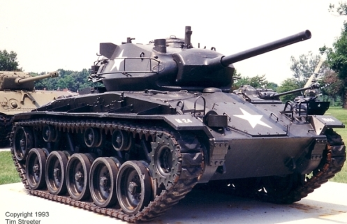 M24 Chaffee front right