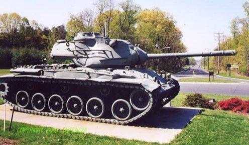 M47MediumTankwith90mmM36GunPatton-T