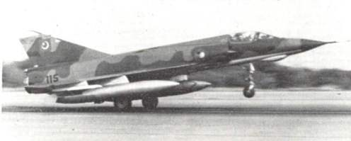 Mirage iii EP in 1971