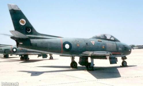 PAF F-86