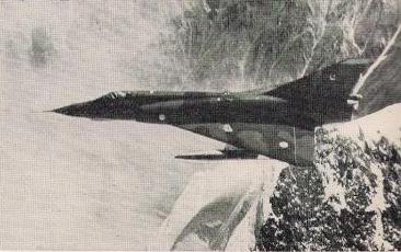 Pakistani Mirage over the Karohakam Mountains, 1971