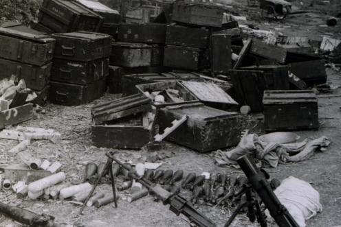armas de Vietnam-guerra Sino-Vietnamitra 1979- mortar Type 63