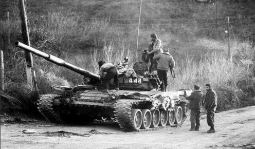 Armenia T-72B