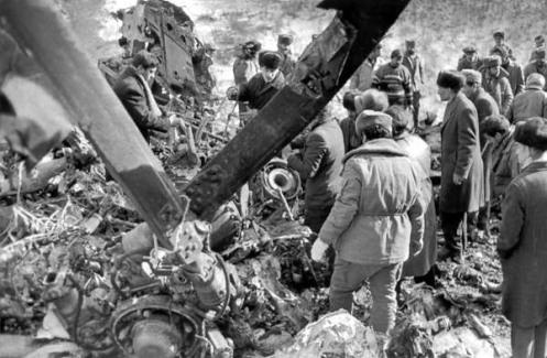 Azerbaiyán helicóptero MI-8 derribado 20.11.1991, la