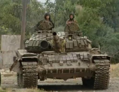 Azerbaiyán T-72B