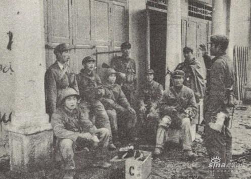 Calles de la ciudad Lang Son después de que el ejército de ocupación en Vietnam anunció la disciplina del campo de batalla para disciplinar a los soldados