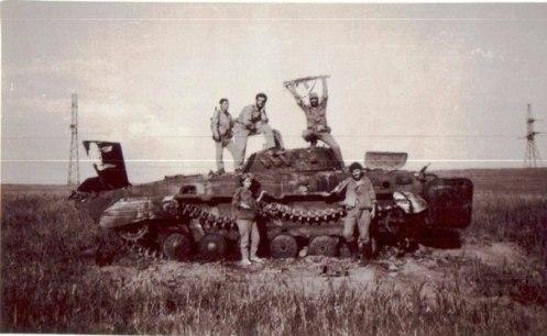 captura de BMP2 fuerzas armenias guerra de nagorno-karabaj 88-94