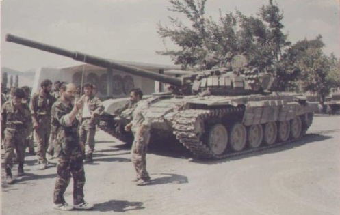 Армянская бронетехника в Карабахе 3