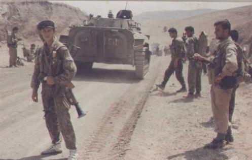 Армянская бронетехника в Карабахе2