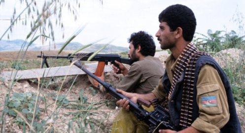 fuerzas de Azerbaiyán